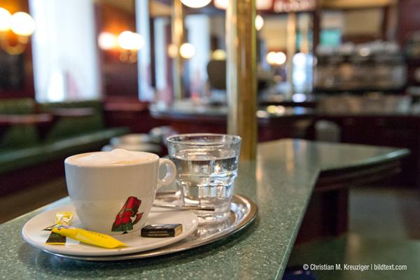 Gehört nun der Vergangenheit an: Das Café Rundfunk in der Alserbachstraße in Wien. © Christian M. Kreutziger | bildetet.com
